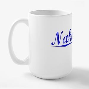Nakamura, Blue, Aged Large Mug