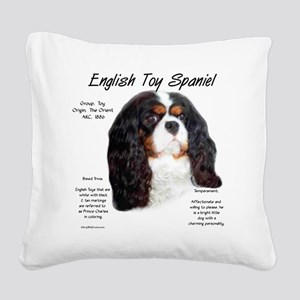 English Toy (prince charles) Square Canvas Pillow