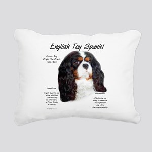 English Toy (prince char Rectangular Canvas Pillow