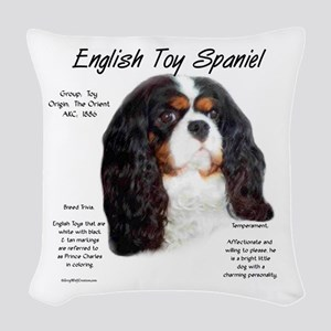 English Toy (prince charles) Woven Throw Pillow