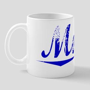Moyer, Blue, Aged Mug