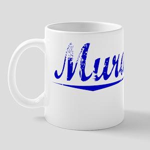 Murakami, Blue, Aged Mug