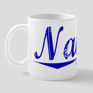 Naylor, Blue, Aged Mug