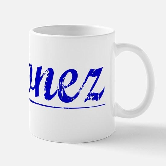 Ordonez, Blue, Aged Mug