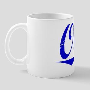 Orvis, Blue, Aged Mug