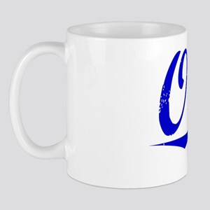 Oday, Blue, Aged Mug