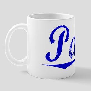Parke, Blue, Aged Mug