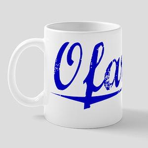Ofarrell, Blue, Aged Mug