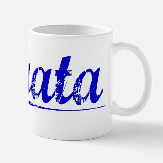 Ogata, Blue, Aged Mug