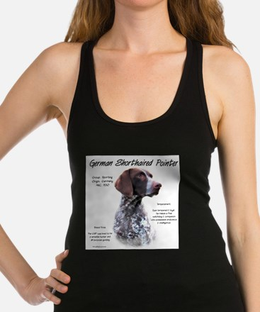 German Shorthaired Pointer Racerback Tank Top