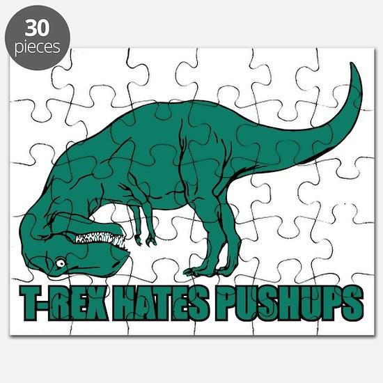 T-Rex Hates Pushups Puzzle