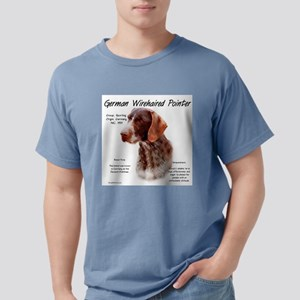 German Wirehaired Pointe Mens Comfort Colors Shirt