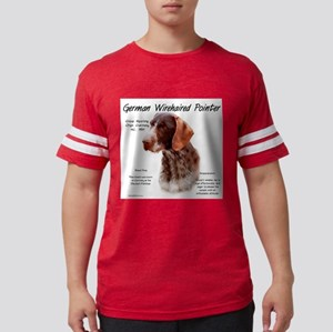 German Wirehaired Pointer Mens Football Shirt