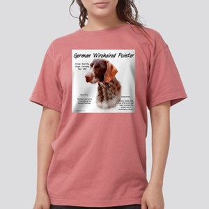 German Wirehaired Poin Womens Comfort Colors Shirt