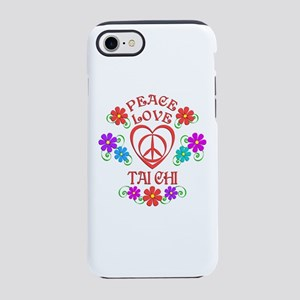 Peace Love Tai Chi iPhone 7 Tough Case