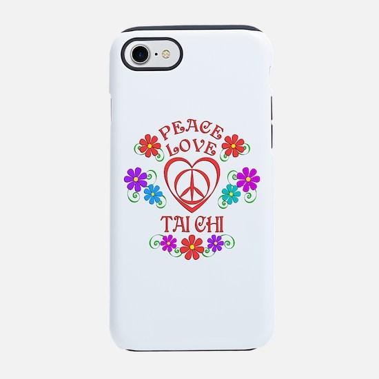 Peace Love Tai Chi iPhone 7 Tough Case