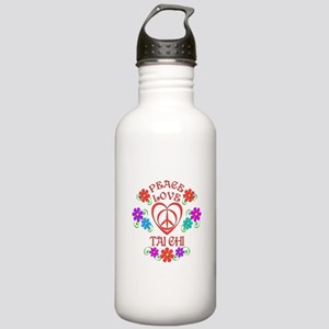 Peace Love Tai Chi Stainless Water Bottle 1.0L