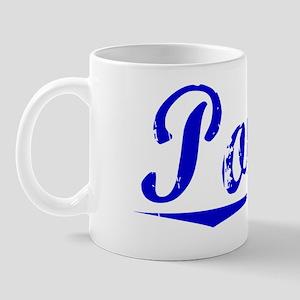 Potvin, Blue, Aged Mug