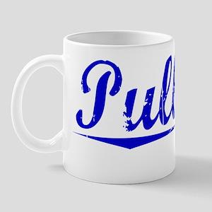 Pulliam, Blue, Aged Mug