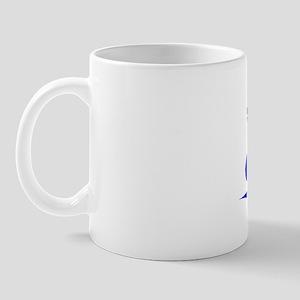 Pitt, Blue, Aged Mug