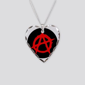 Anarchy Necklace Heart Charm