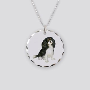 Tri Cavalier (B) Necklace Circle Charm