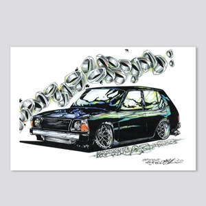MAZDA 323 HATCH Postcards (Package of 8)
