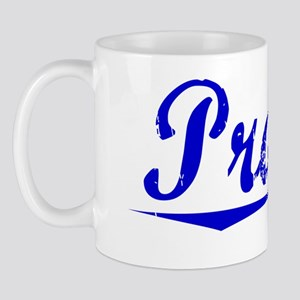 Prager, Blue, Aged Mug