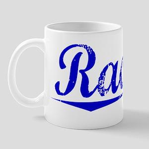 Rachal, Blue, Aged Mug