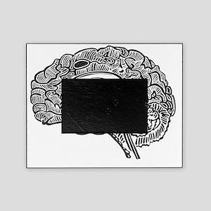 Science Geek Brain Picture Frame