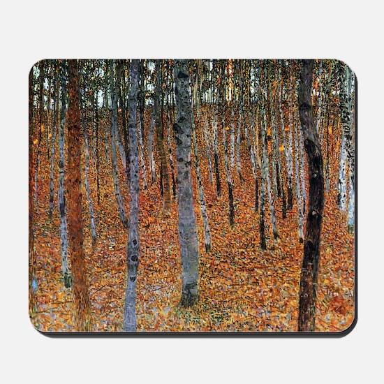 Gustav Klimt Beech Grove Mousepad