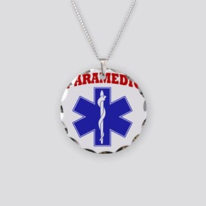 Paramedic Necklace Circle Charm