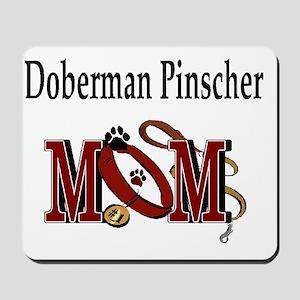Doberman Pinscher Mom Mousepad