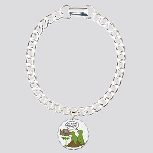 Noah and T-Rex, Funny Charm Bracelet, One Charm
