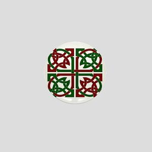 Celtic Knot Squared Mini Button