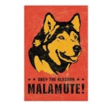 Alaskan Malamute! (pack Postcards (package Of 8)