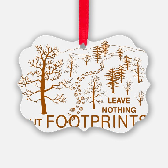 Leave Nothing but Footprints Brow Ornament