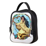 Hummingbird Dreamcatcher Neoprene Lunch Bag