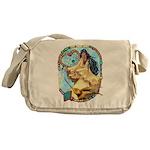 Hummingbird Dreamcatcher Messenger Bag