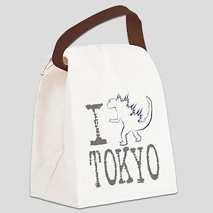 I Godzilla TOKYO (new) Canvas Lunch Bag