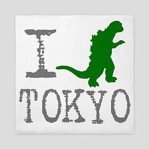 I Godzilla TOKYO (original) Queen Duvet