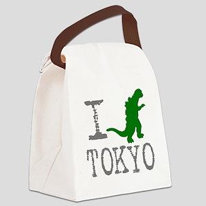 I Godzilla TOKYO (original) Canvas Lunch Bag
