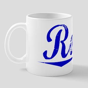 Romo, Blue, Aged Mug