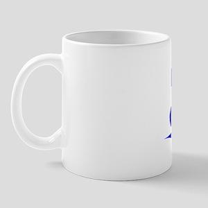 Rio, Blue, Aged Mug