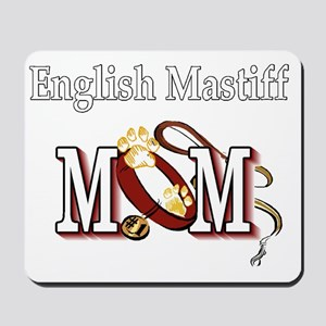 English Mastiff Mom Mousepad