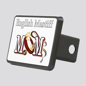 English Mastiff Mom Rectangular Hitch Cover