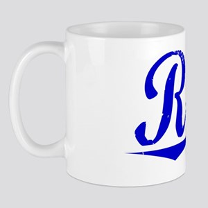 Rorie, Blue, Aged Mug
