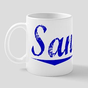 Sandler, Blue, Aged Mug