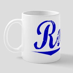 Rosso, Blue, Aged Mug