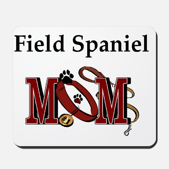 Field Spaniel Mom Mousepad